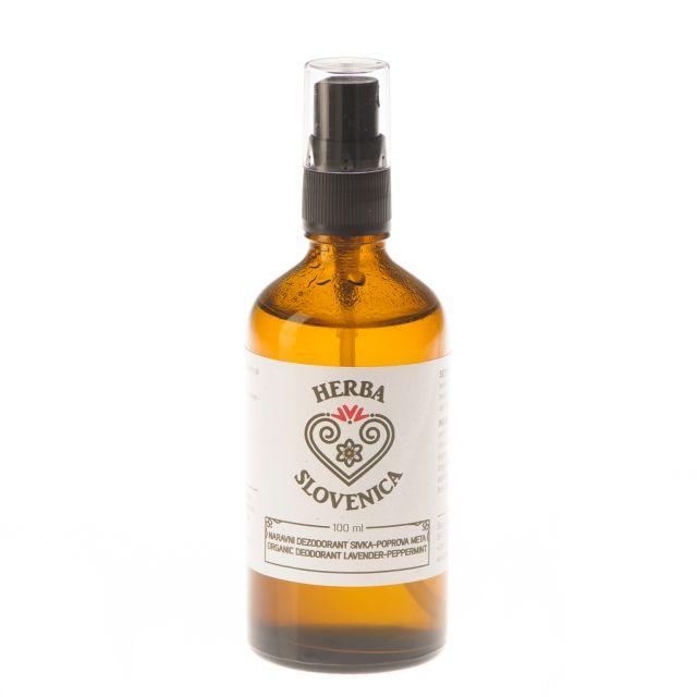 Naravni dezodorant sivka-poprova meta